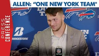 "Josh Allen | ""One New York Team"""