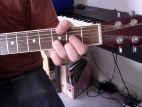 The Beatles - Hey Jude - alt version (D) - played in open position - Medium.m4v