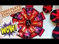 Hexagonal Chocolate explosion box | Surprise gift box for birthday, anniversary , Valentine's day |