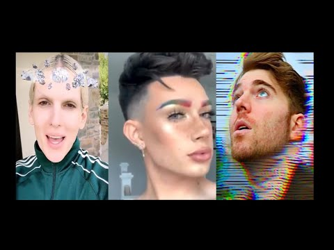 JAMES CHARLES & JEFFREE STAR AT IT AGAIN | JAMES SHADES SHANE DAWSON! thumbnail