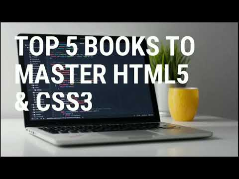 Top 5 Books To Master HTML5 & CSS3