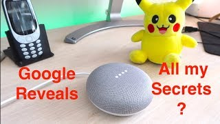 Google Home Mini Takes over my Channel | Threatens to reveal my secrets
