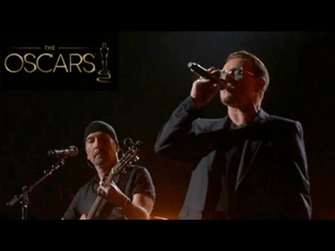 Oscars 2014: U2 perform ' Ordinary Love' -- Tribute to Nelson Mandela