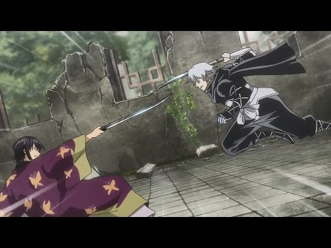 Gintama 2017 - Takasugi vs Oboro Swords Fight! [60FPS]