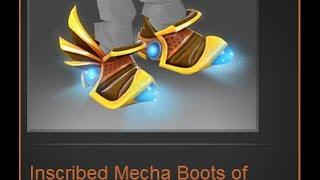 Dota 2 Tinker - TI4 Immortal Item - Mecha Boots of Travel MKII
