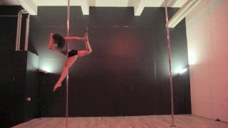 Pole Dance Perfomance / Ludovico Einaudi - Walk, Daughter - Youth