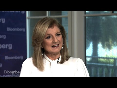 Arianna Huffington on Uber, Gender Gap and Social Media