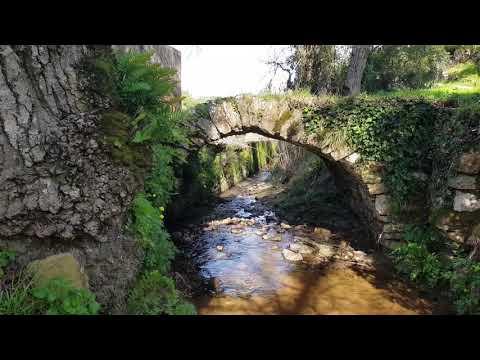 Reguengo Grande e o vale do rio Galvão.O relembrar dos moinhos de água.