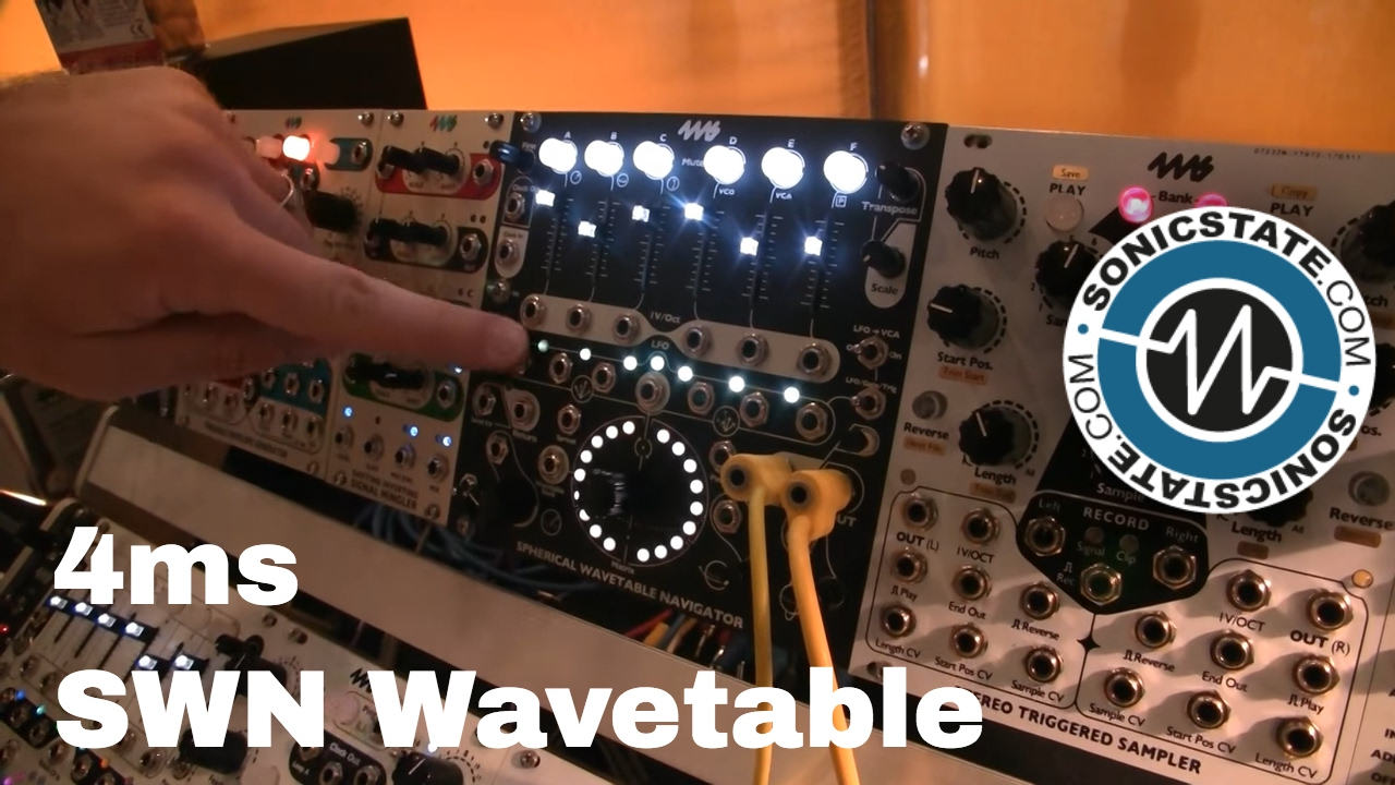 MUFF WIGGLER :: View topic - 4ms Spherical Wavetable Navigator SWN