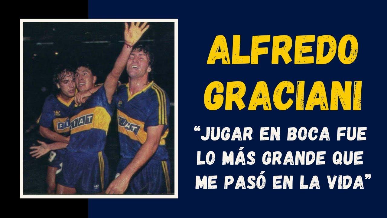"""ExBoca Alfredo Graciani: """"Jugar en #Boca fue lo más grande que me pasó en la vida"""" - YouTube"""