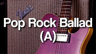 Cover images Pop Rock Ballad Backing Track in A