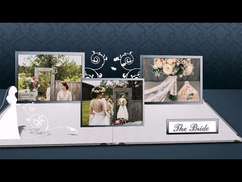 """3D Wedding Album"" – The Perfect Wedding Slideshow Template"