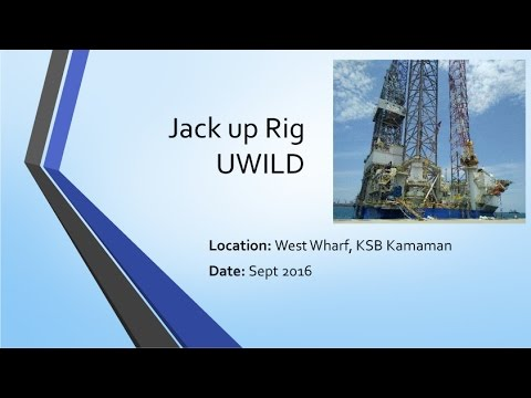 Jack Up Rig - UWILD and Special Periodic Survey #1