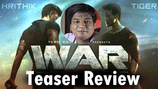 War teaser review by Saahil Chandel | Hrithik Roshan | Tiger Shroff | Vaani Kapoor