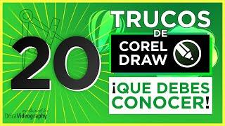 👊 20 TRUCOS QUE DEBES SABER DE COREL DRAW 👈