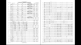 Captain America March by Alan Silvestri / arr. Michael Brown