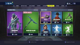 **NEW** SNOWFOOT AMAZING NEW SKIN! FORTNITE ITEM SHOP JAN 4, 2019