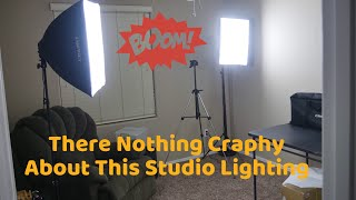 There Nothing Craphy About This Studio Lighting |4 Socket Studio Soft Box Photography screenshot 5
