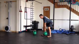 Kettlebell Exercises | Front Squat and Goblet Squat