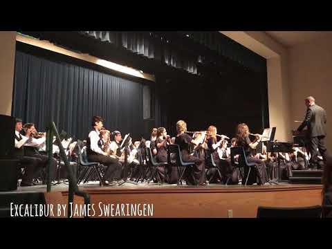 Bob Miller Middle School Advanced Band SNBA Music Festival 2018