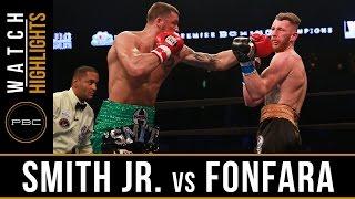 Smith Jr. vs Fonfara HIGHLIGHTS: PBC on NBC - June 18, 2016