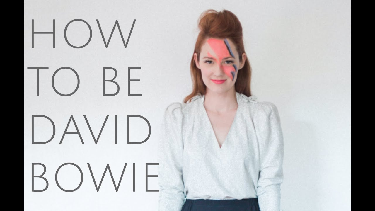 How To be David Bowie for Halloween (Costume DIY) - YouTube