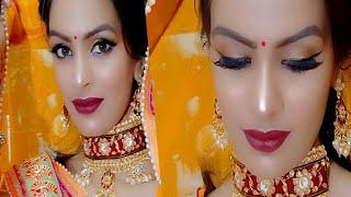Bridal Makeup After Wedding Step by Step Tutorial दुल्हन मेकअप कैसे करें / Priya Deep