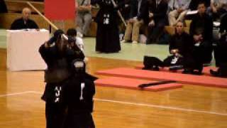 第55回全日本東西対抗剣道大会 男子の部 6将 古川 対 山本