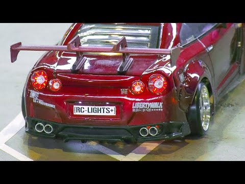 RC MODEL DRIFT CAR NISSAN GT-R|RC DRIFT CAR FORD MUSTANG|*RC DRIFT CAR ACTION!!