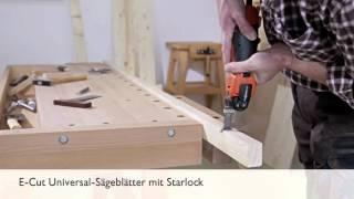 E-Cut Universal-Sägeblätter mit Starlock