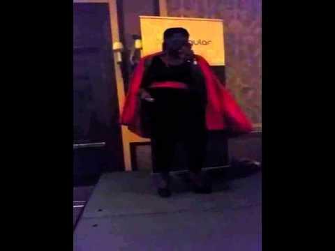 Nettyt singing Sign, Sealed, Delivered Karaoke