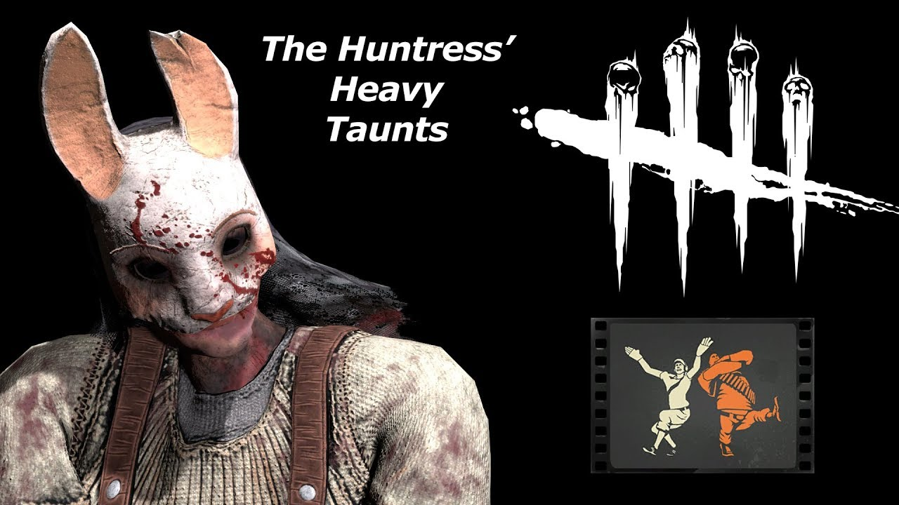 Huntress U0026 39  Heavy Taunts And Kazotsky Kick  Dead By Daylight  Tf2 Sfm Test 2