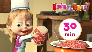 Masha and the Bear 🐼 BON APPÉTIT 🥟 30 min ⏰ Сartoon collection 🎬