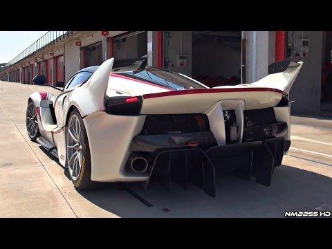 Ferrari FXX K OnBoard Footage on Track - PURE V12 Engine Sound!