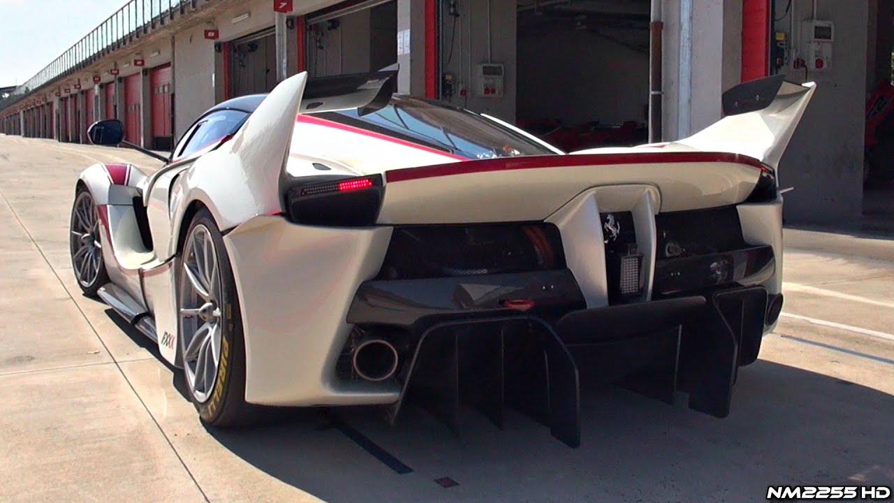 V12 Engine Cars: Ferrari FXX K OnBoard Footage On Track