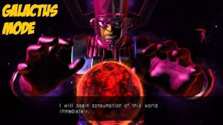 Ultimate Marvel vs Capcom 3 Galactus Mode