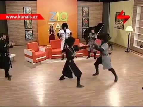 Dikiy Kavkaz Lezginka Dance Group-Sheki Kanal S (ZIQ ZAQ)
