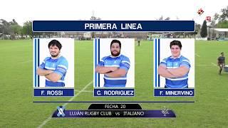Lujan Rugby Club vs Italiano EN VIVO - Fecha 20 URBA