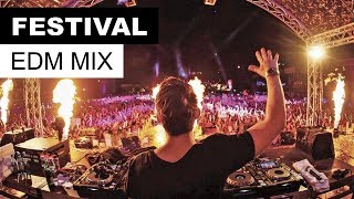 Festival EDM Mix 2017 - Best Electro House Party Music Free HD Video