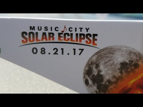 ECLIPSE LIVE from Nashville, TN - 100% full eclipse of the sun!!!