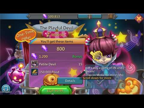 Lords Mobile Account For Sale
