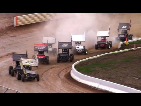 410 Sprint Car Heat One | Port Royal Speedway | 4-28-18