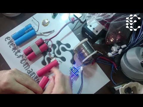 3.7v 18650 Tip Pillerden 2S1P Şarj Edilebilir Batarya Yapalım.