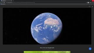 Login Enterprise   Google Earth in Google Chrome workload