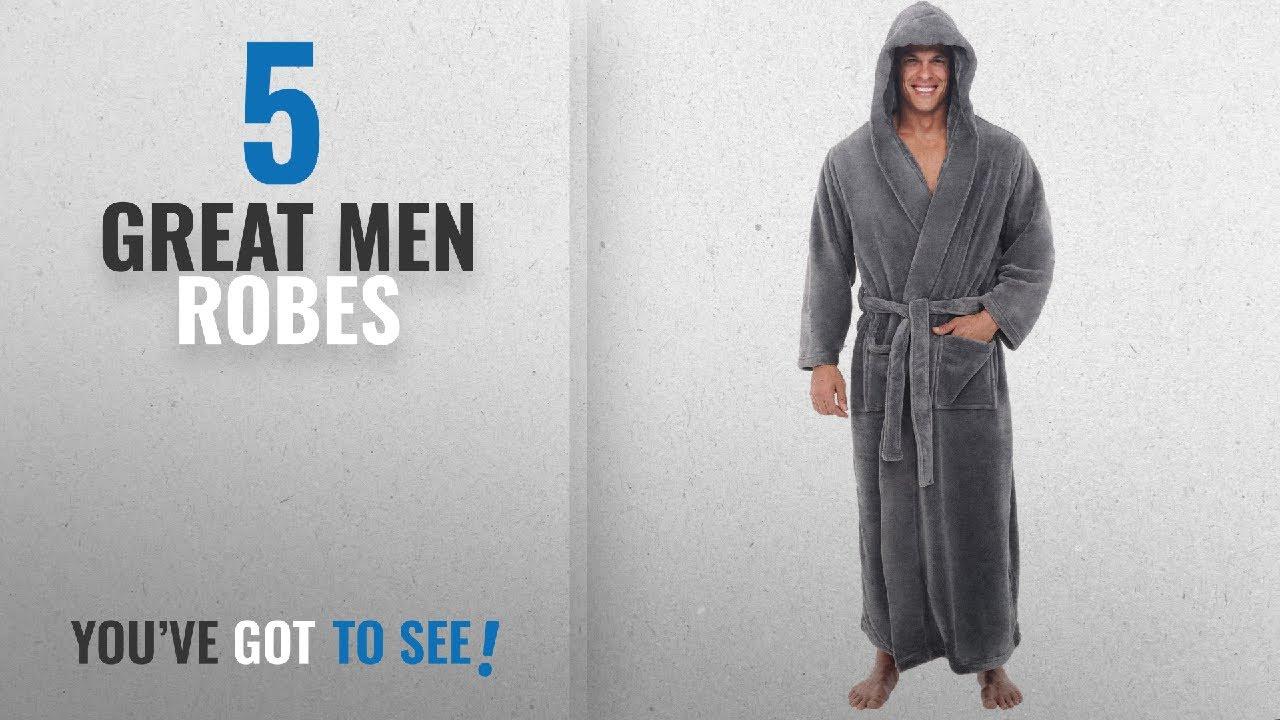51a96d3d41 Top 10 Mens Robes   Winter 2018    Del Rossa Mens Fleece Robe