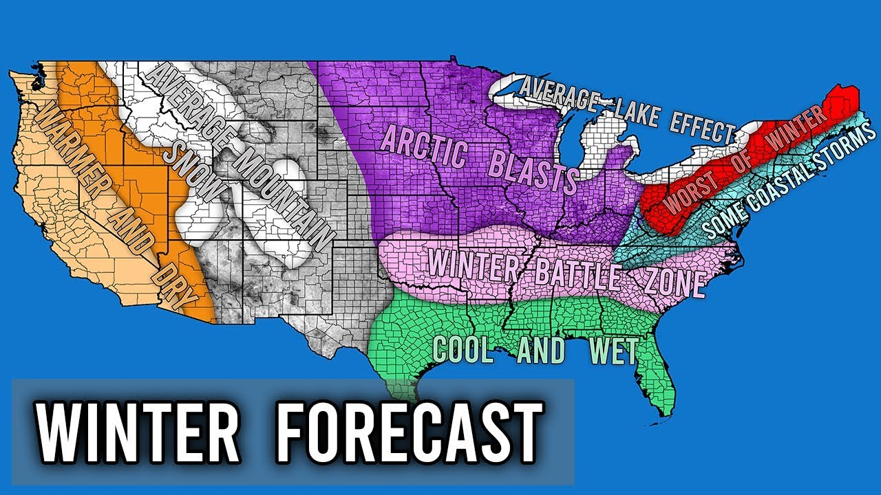 Accuweather Winter Forecast 2020.Winter Forecast 2019 2020