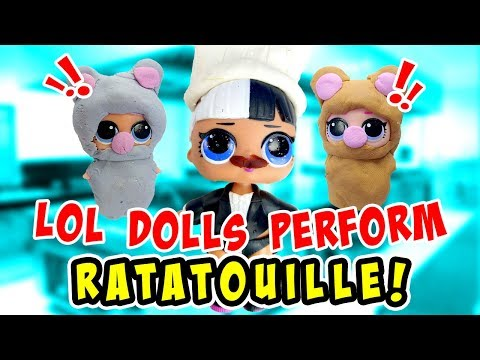 LOL Surprise Dolls Perform Ratatouille Dressed Up With Play-Doh!