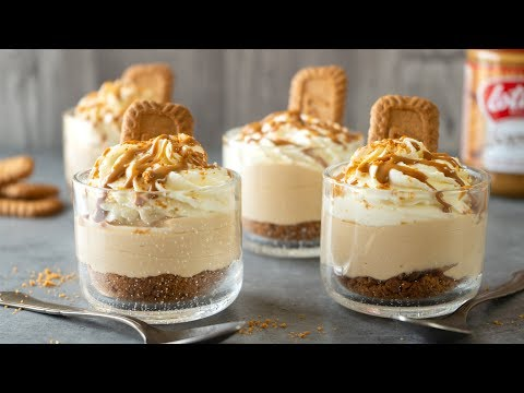 Speculoos Cheesecake Shots
