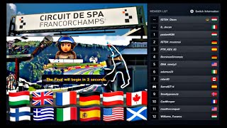 Welcome SPA FRANCORCHAMPS in Gran Turismo Sport