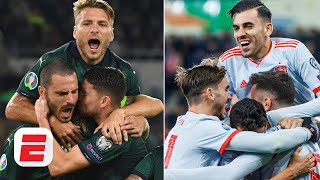 Are Italy or Spain in better shape ahead of Euro 2020? | European Championship Qualifying